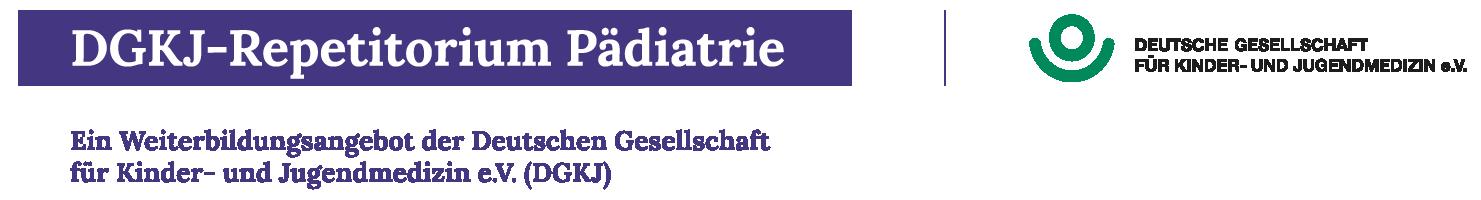 DGKJ-Repetitorium Pädiatrie 2021 Logo